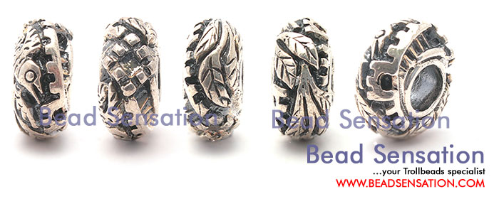 Trollbeads Limited Edition China Silver Great Wall