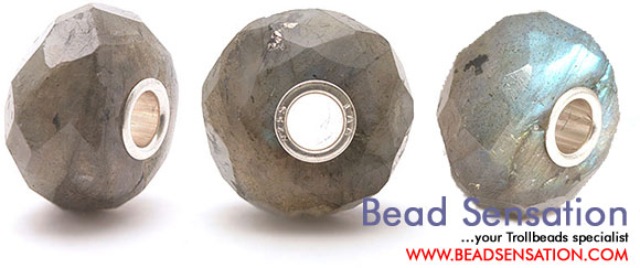 Trollbeads Limited Edition Gemstone - Faceted Labradorite